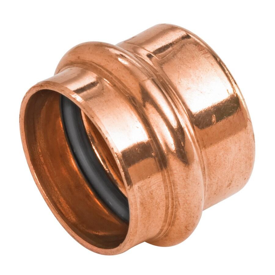 1-in Copper Press-Fit Cap Fitting