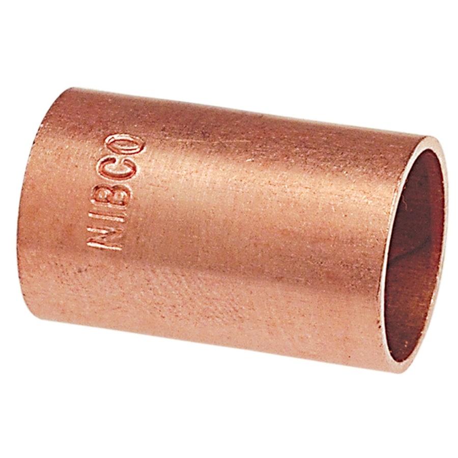 NIBCO 1-1/4-in x 1-1/4-in Copper Slip Coupling Fitting