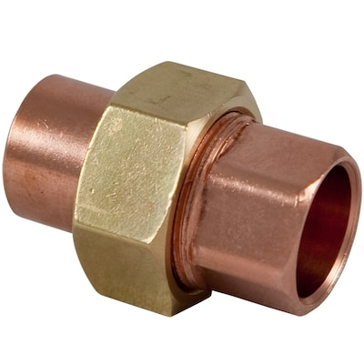 NIBCO 3/4-in x 3/4-in Copper Slip Union Fittings at Lowes com