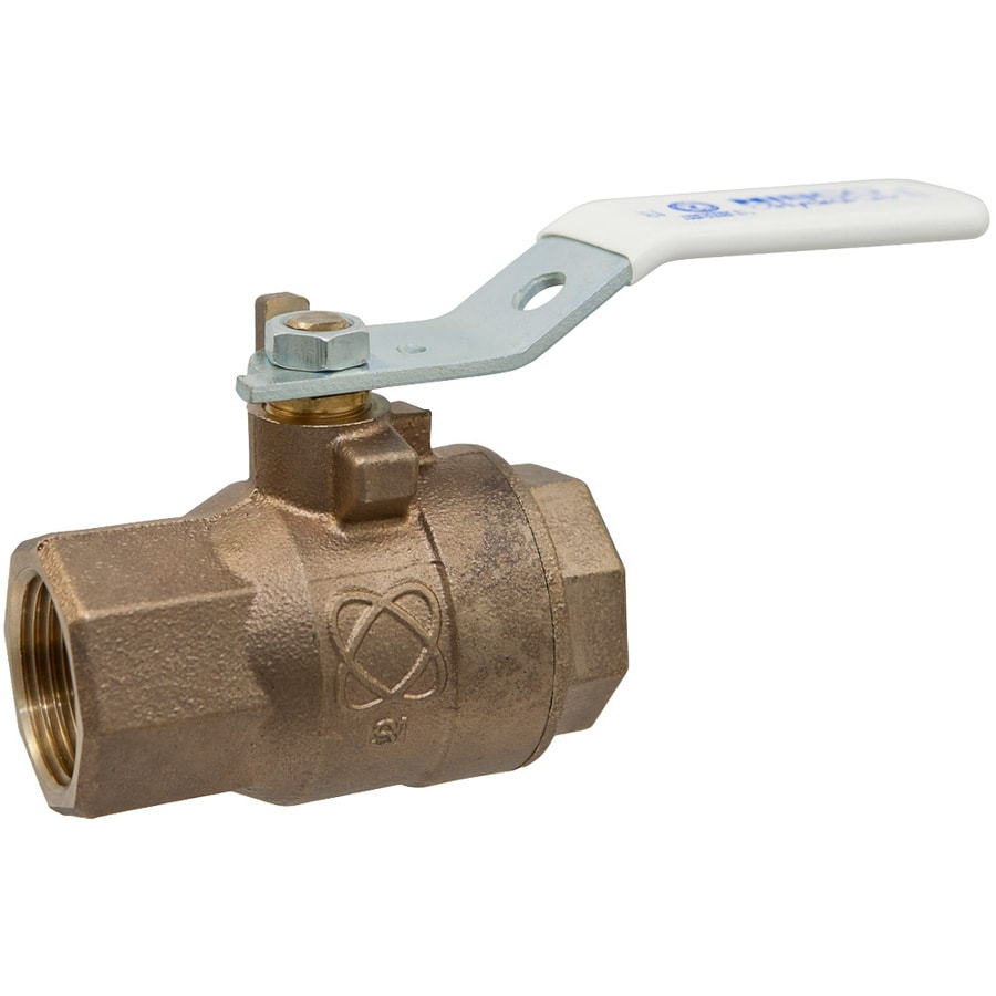 3/8-in Bronze Female In-Line Ball Valve