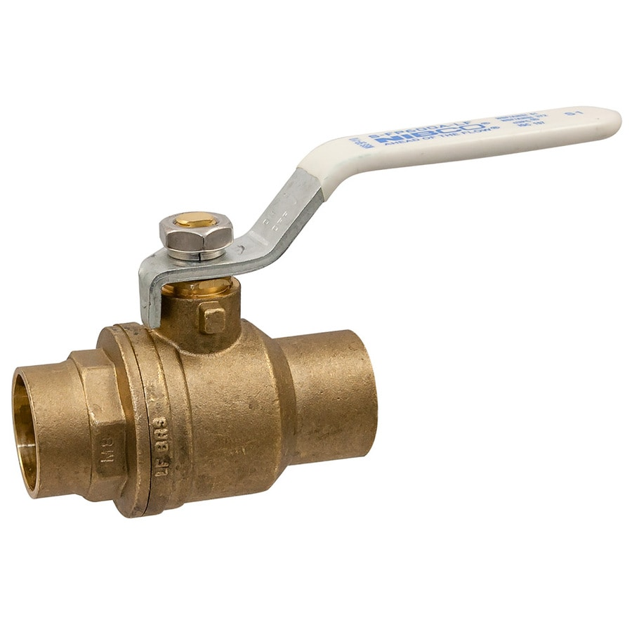 Brass 1-in Female x 1-in Ball Valve