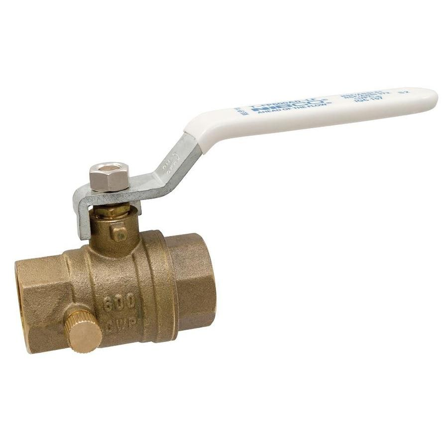 Brass 1/2-in Female Ball Valve