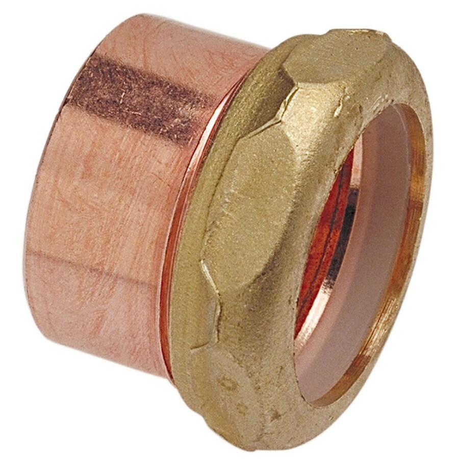 1-1/2-in x 1-1/4-in Copper Slip Adapter Fitting