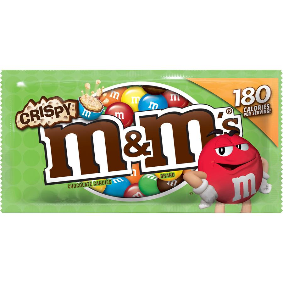 M&M's 2.83-oz Chocolate Crisp Candies