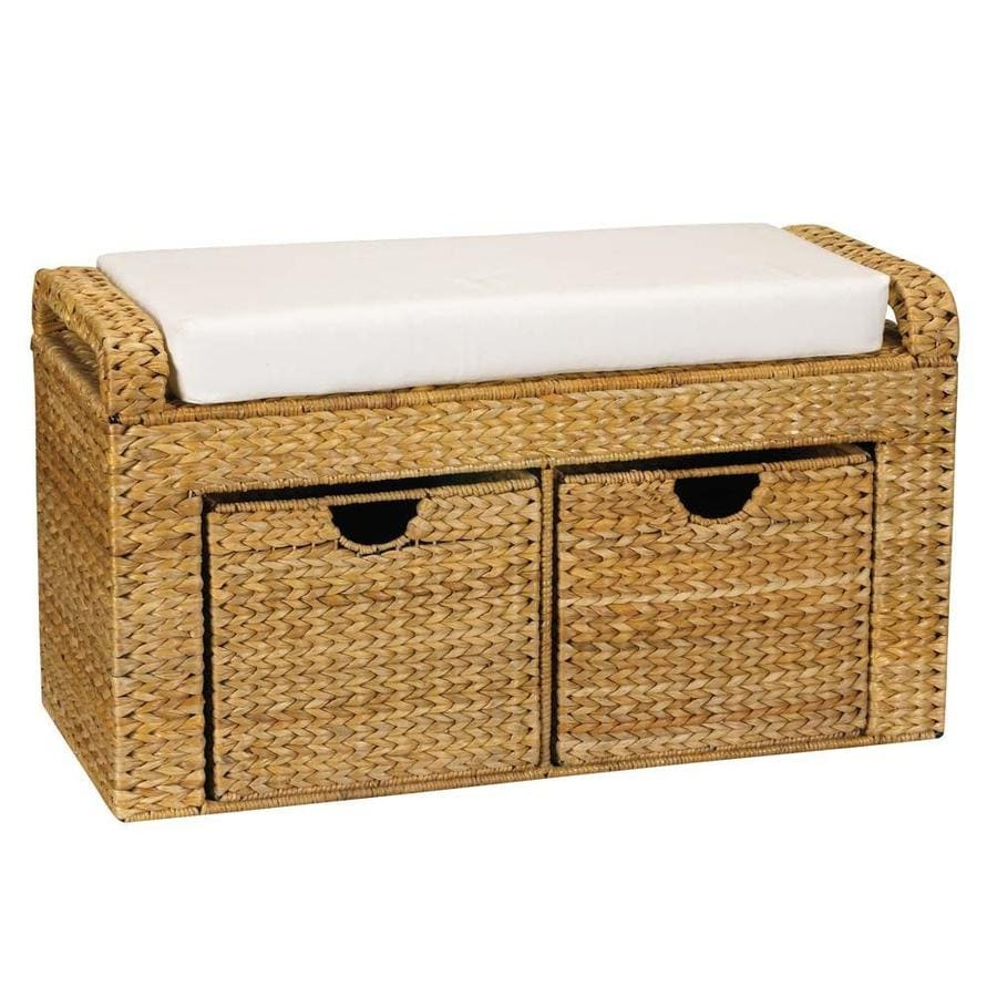 Household Essentials Design Trend Traditional Natural Storage Bench