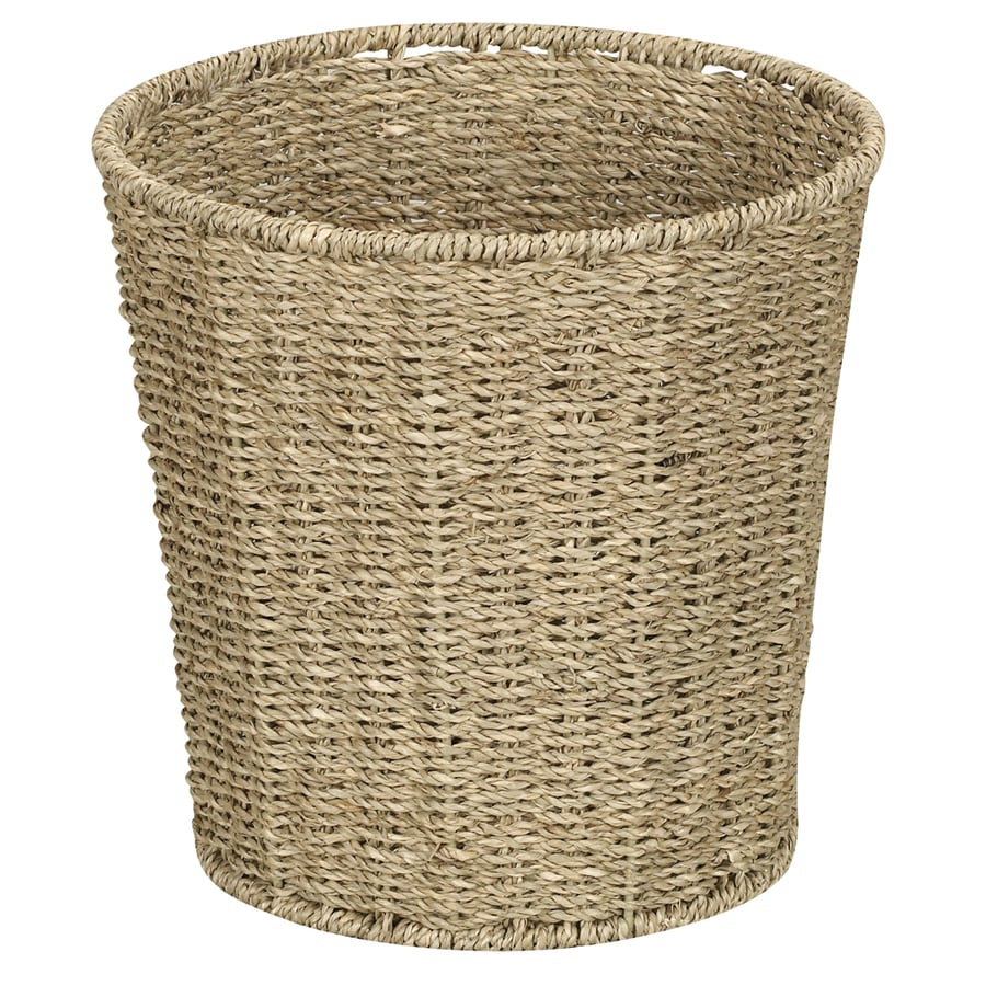 Household Essentials Wicker Wastebasket