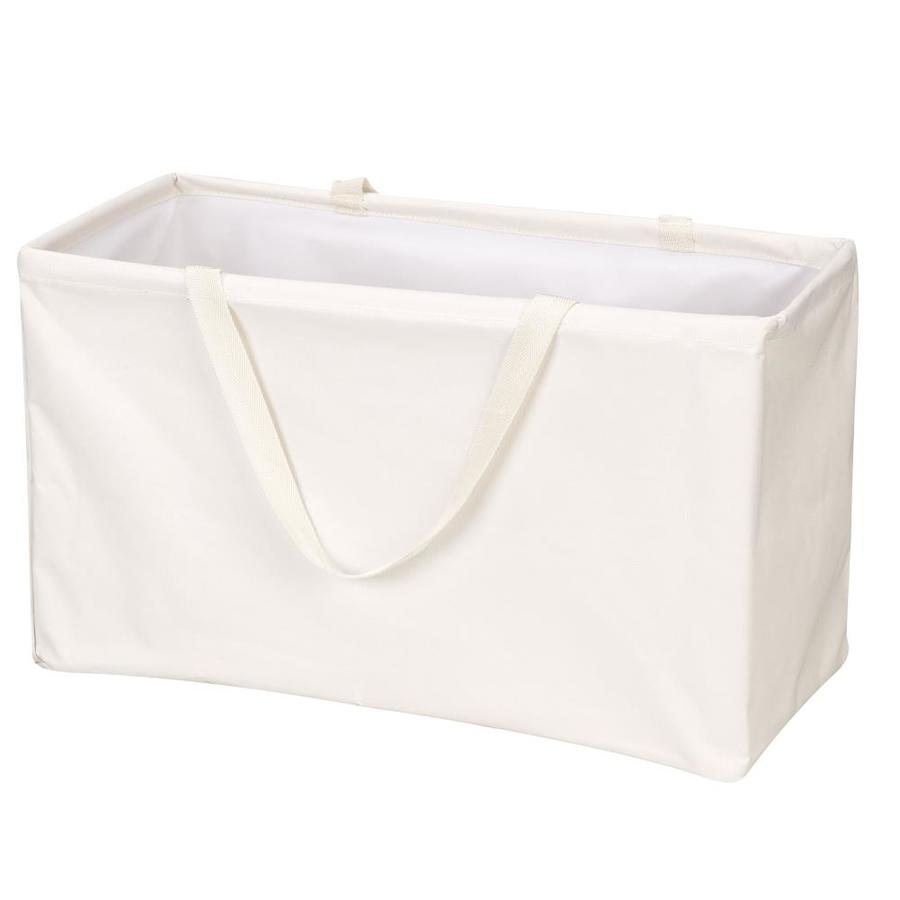 Household Essentials 1-Piece Canvas Clothes Hamper