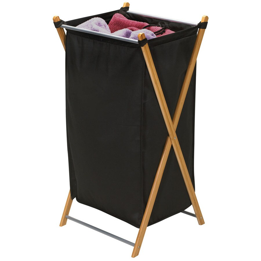 Household Essentials 1-Piece Mixed Materials Clothes Hamper