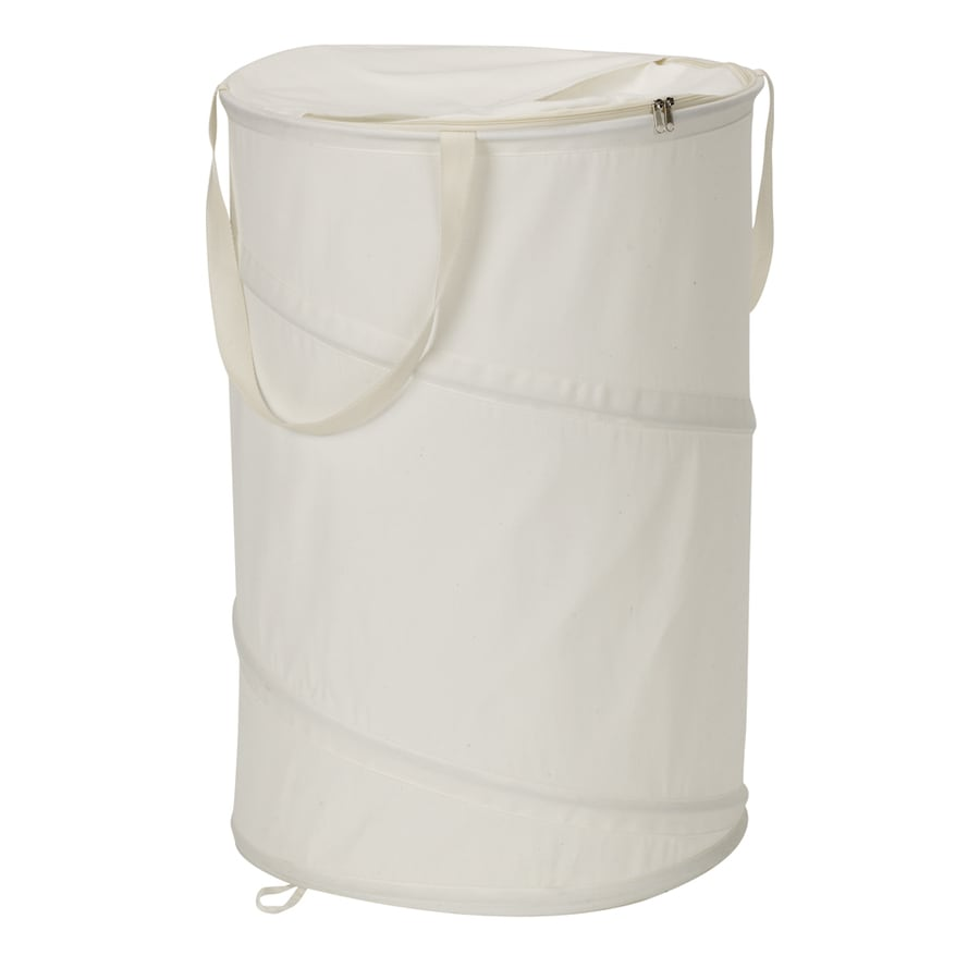 Household Essentials Canvas Clothes Hamper
