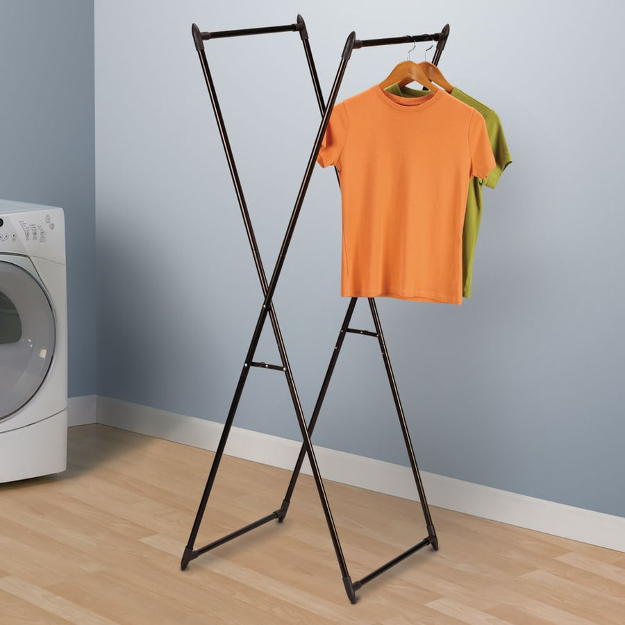 Household Essentials 1 Tier Metal Drying Rack