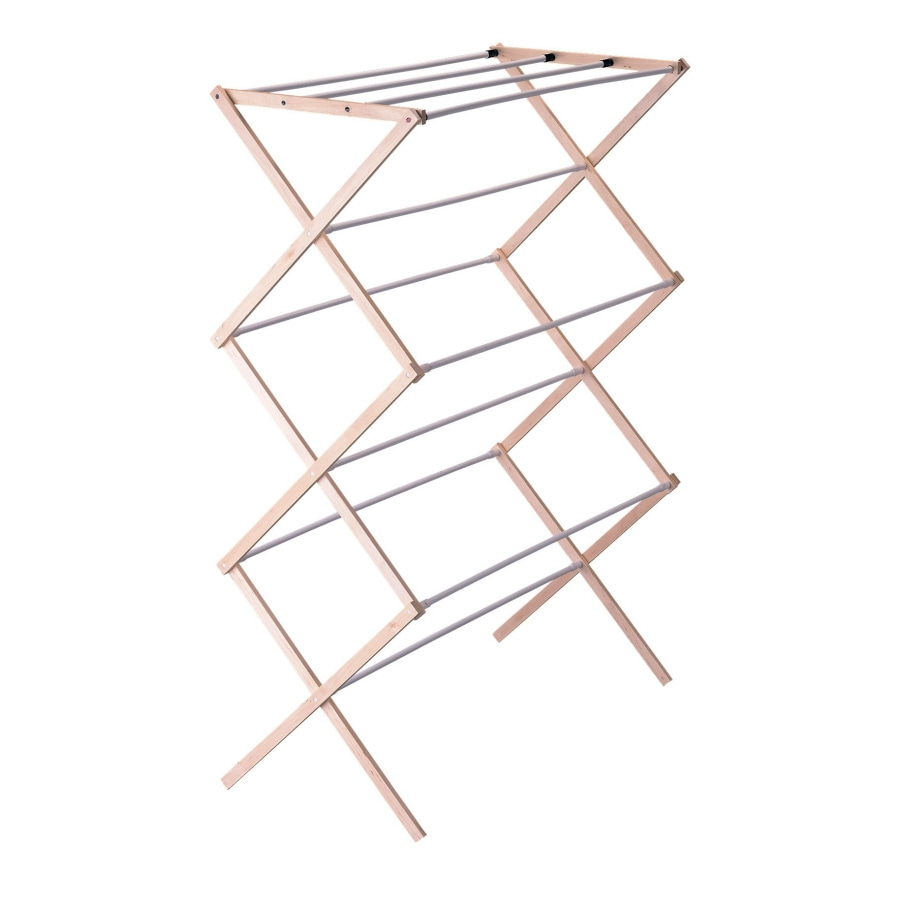 Style Selections Wood Drying Rack