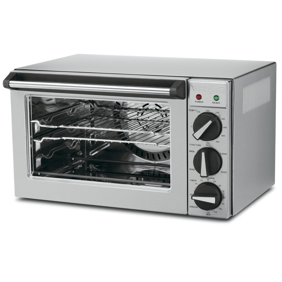 Shop Waring PRO 4 Slice Convection Toaster Oven with Rotisserie at