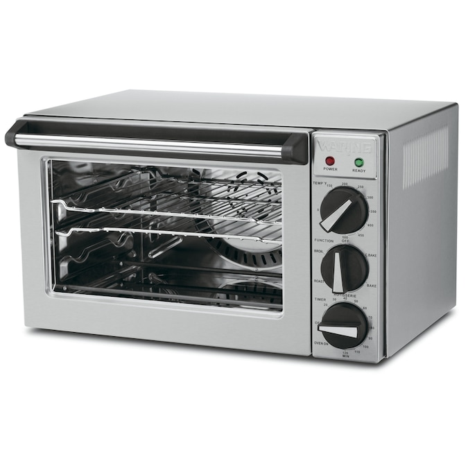 Waring Pro 4 Slice Convection Toaster Oven With Rotisserie In The Toaster Ovens Department At Lowes Com