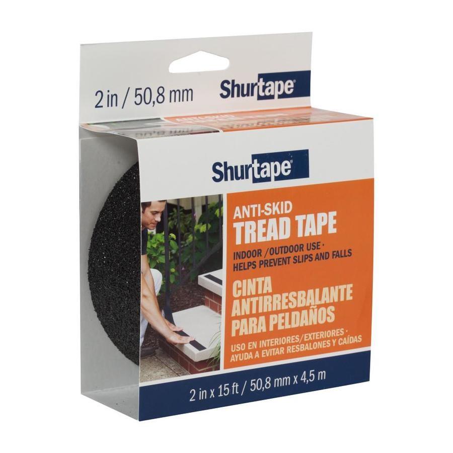 Shurtape 2 In X 180 In Black Safety Tape