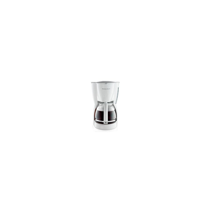 Hamilton Beach White 12-Cup Coffee Maker