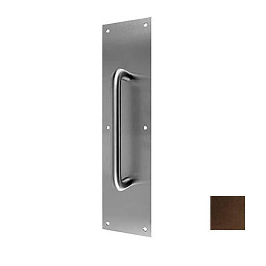DON-JO 4-in x 16-in Oil-Rubbed Bronze Entry Door Pull Plate