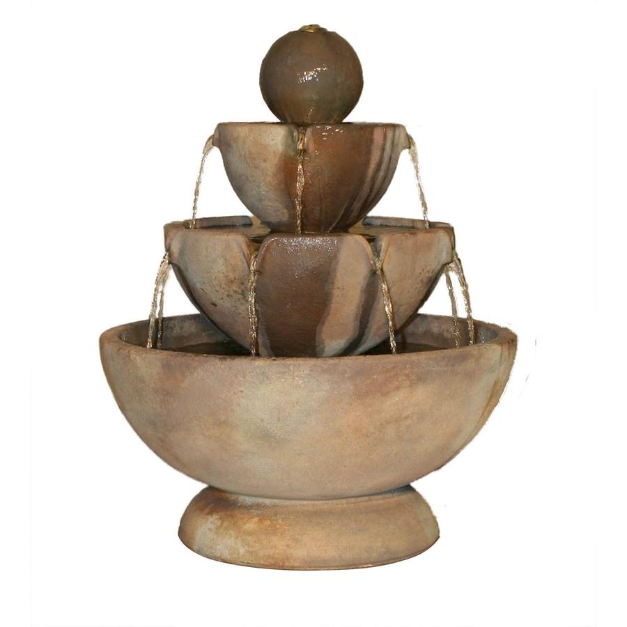 Henri Studio Tiered 3-Tier Outdoor Fountain with Pump