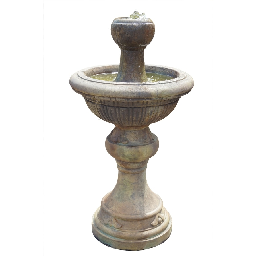 Henri Studio Centerpiece 1-Tier Outdoor Fountain with Pump