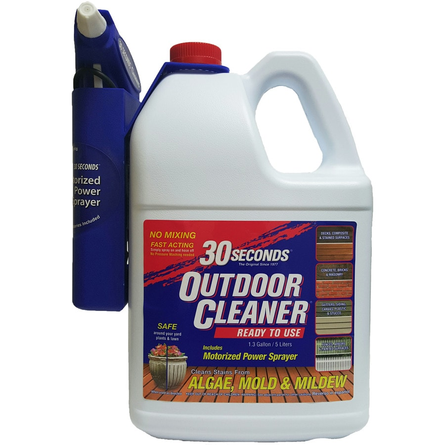 30 SECONDS Outdoor Cleaner 1.3-Gallon Moss and Algae Cleaner