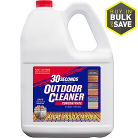 30 SECONDS Outdoor Cleaner 1-Gallon Concentrate Algae Mold