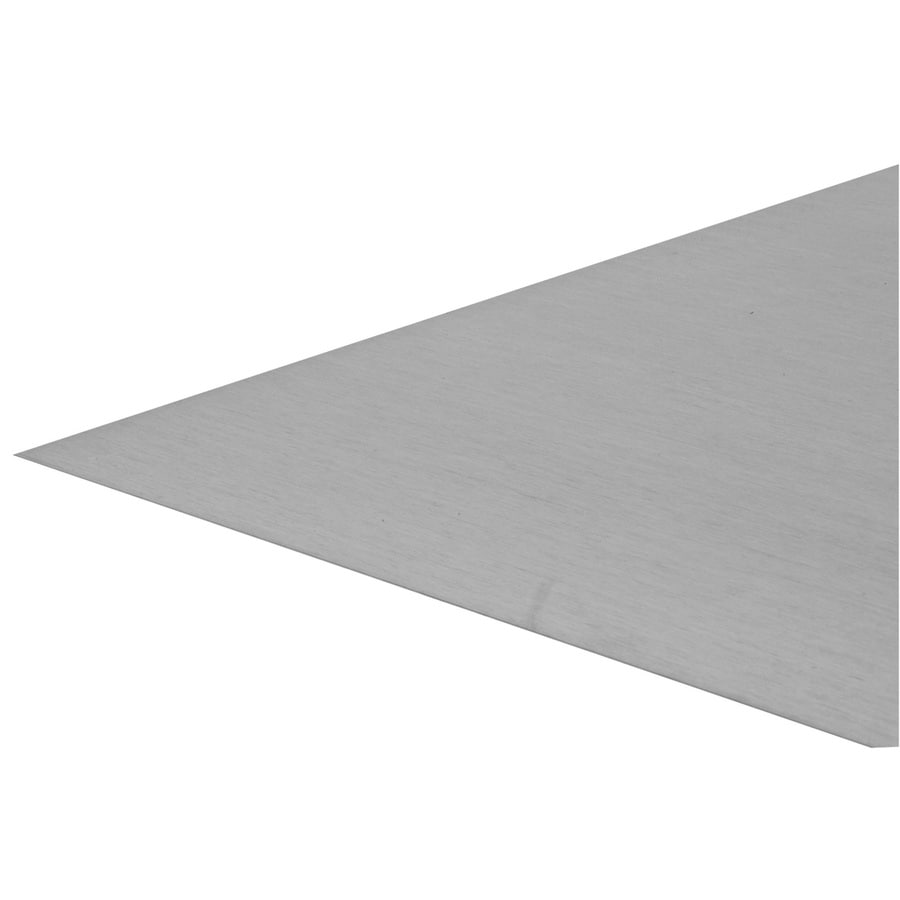 Shop Steelworks 24 1 4 In X 3 Ft Aluminum Sheet Metal At