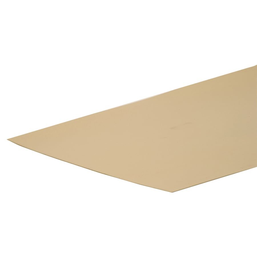 The Hillman Group 12-in x 2-ft Brass Sheet Metal