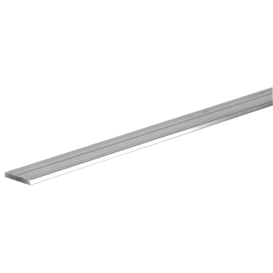 Shop steelworks ft in aluminum metal flat bar at