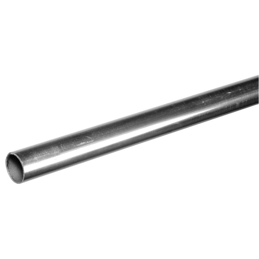 Steelworks 8-ft x 1-in Aluminum Plain Tube