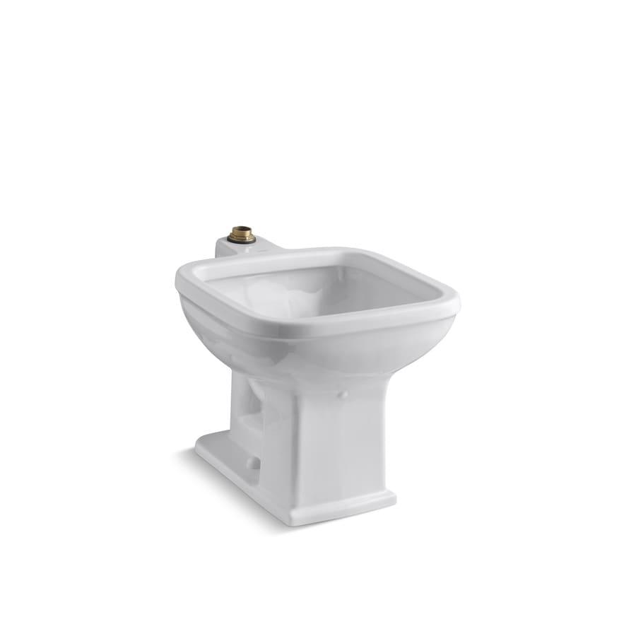 KOHLER 17-in x 17-in White Freestanding Vitreous China Laundry Sink