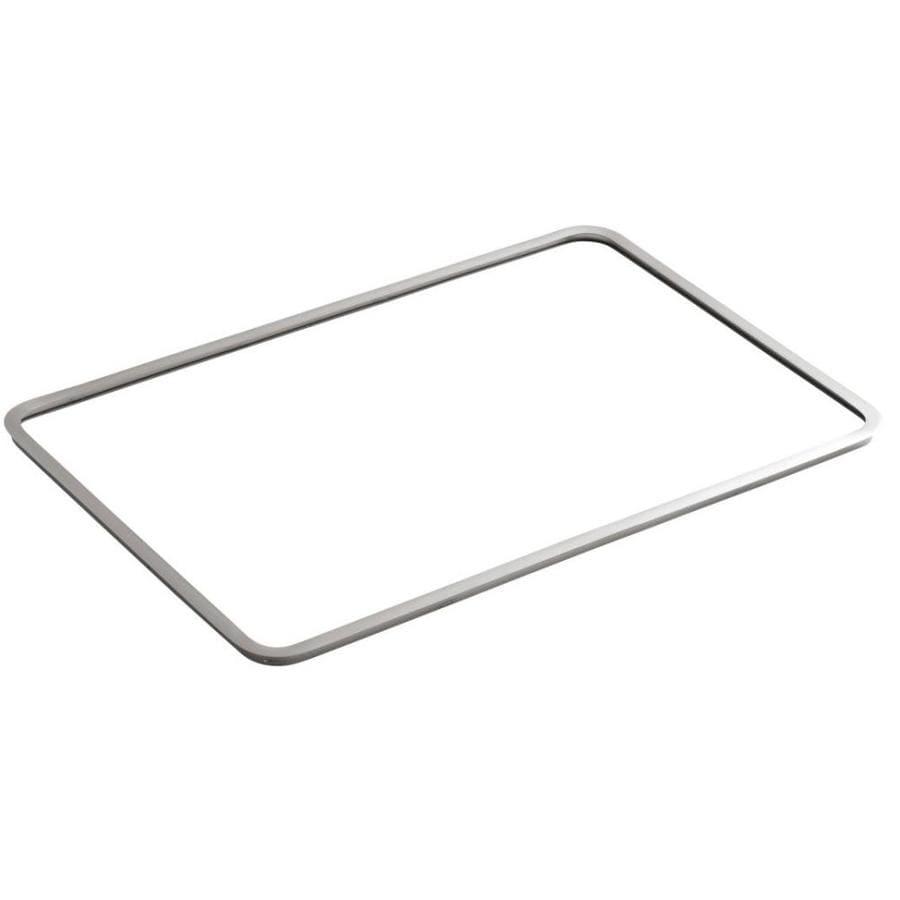 KOHLER 32-in W x 21.0625-in L Stainless Steel Bathroom Sink Frame