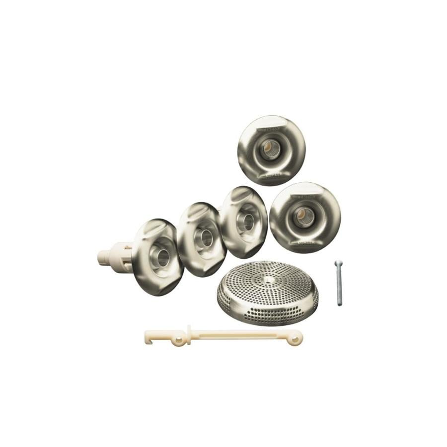 KOHLER Brushed Nickel Flexjet Whirlpool Trim Kit