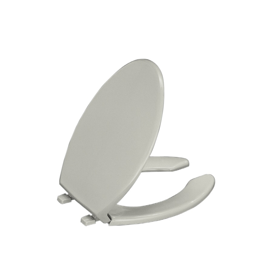Kohler Lustra Plastic Elongated Toilet Seat At Lowes Com