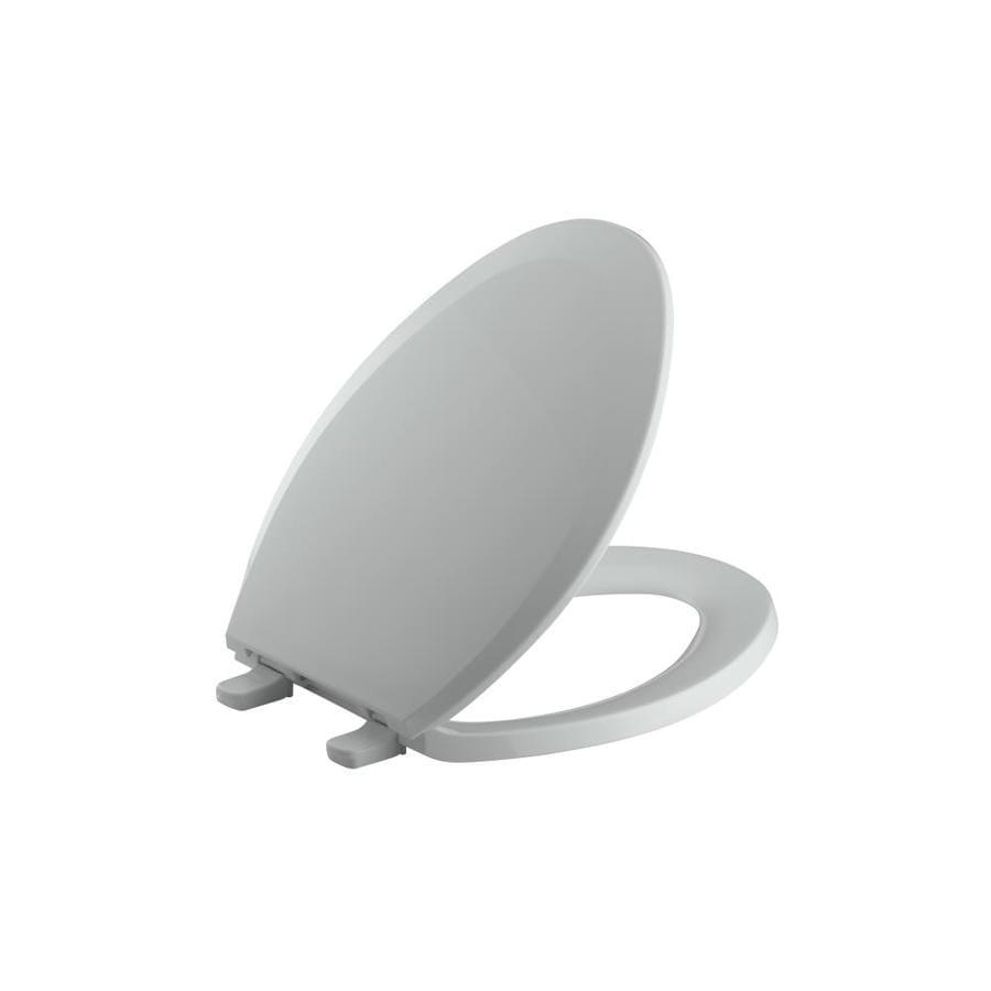 KOHLER Lustra Plastic Elongated Toilet Seat