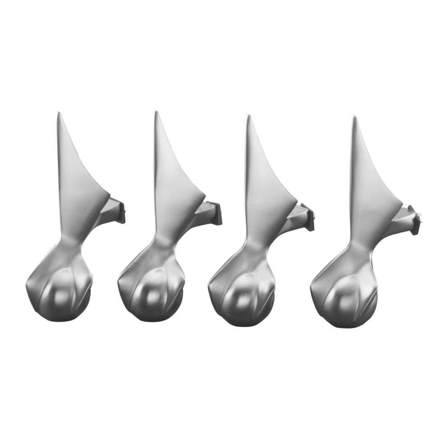 KOHLER Vibrant Polished Brass Bathtub Feet