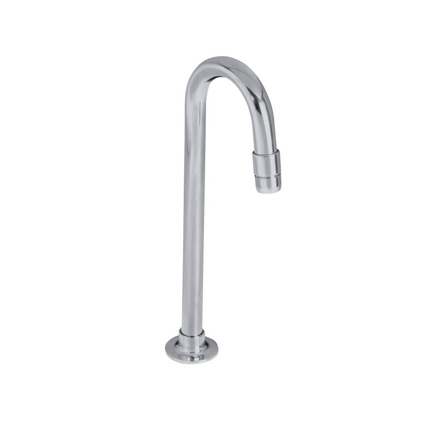 Shop Kohler Polished Chrome 1 Handle Single Hole Commercial Bathroom Faucet At
