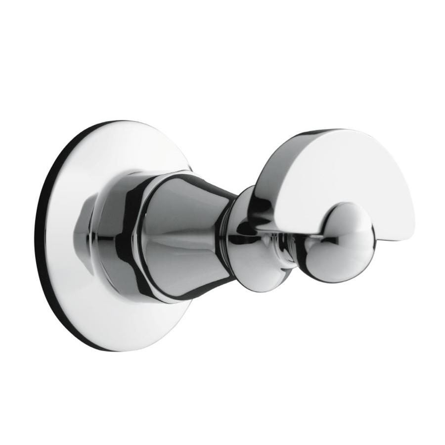 KOHLER Antique 1-Hook Polished Chrome Towel Hook