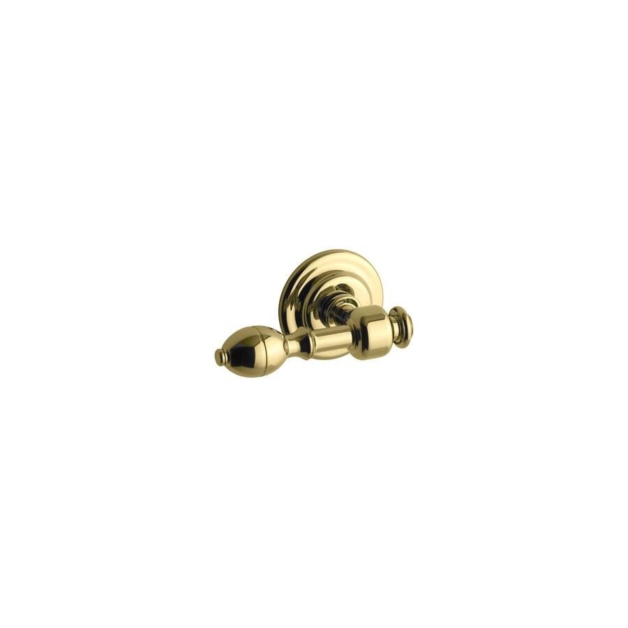 KOHLER Vibrant Polished Brass Brass Trip Lever