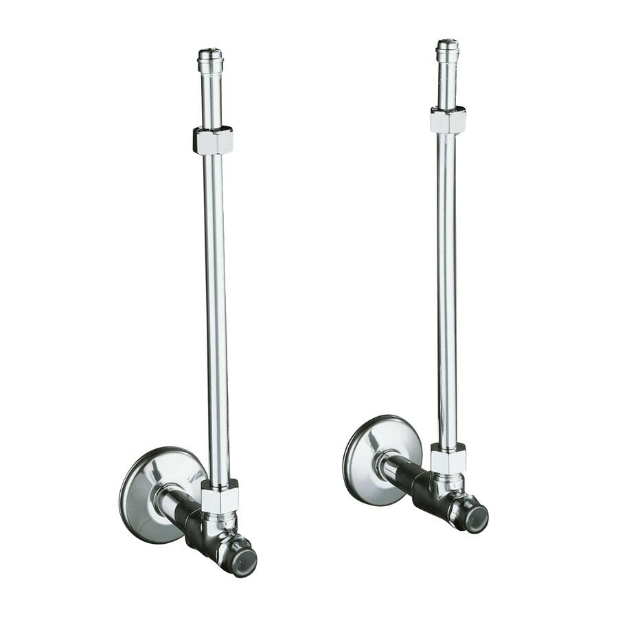 KOHLER 2-Pack 3/8-in Compression 12-in Copper Toilet Supply Lines
