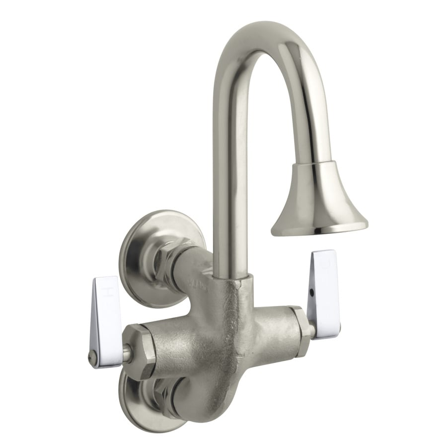 KOHLER Cannock Rough Plate 2-Handle Utility Faucet