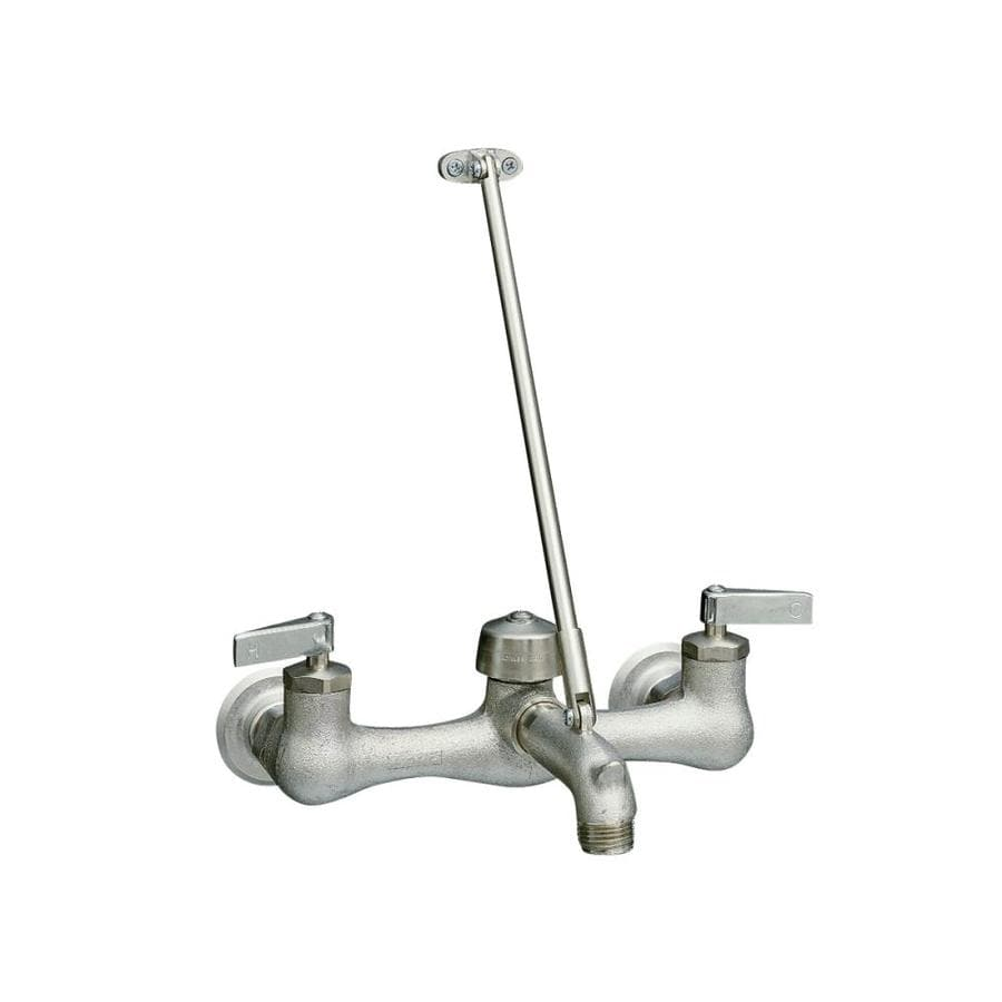 Shop KOHLER Kinlock Polished Chrome 2 Handle Widespread Commercial Bathroom F