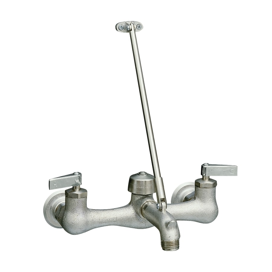 KOHLER Kinlock Rough Plate 2-Handle Bathroom Sink Faucet