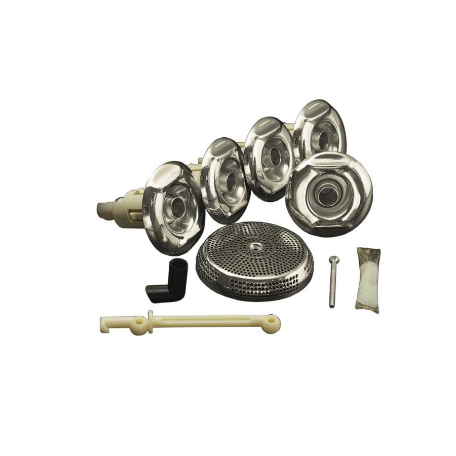 KOHLER Flexjet Whirlpool Trim Kit, Vibrant Polished Nickel
