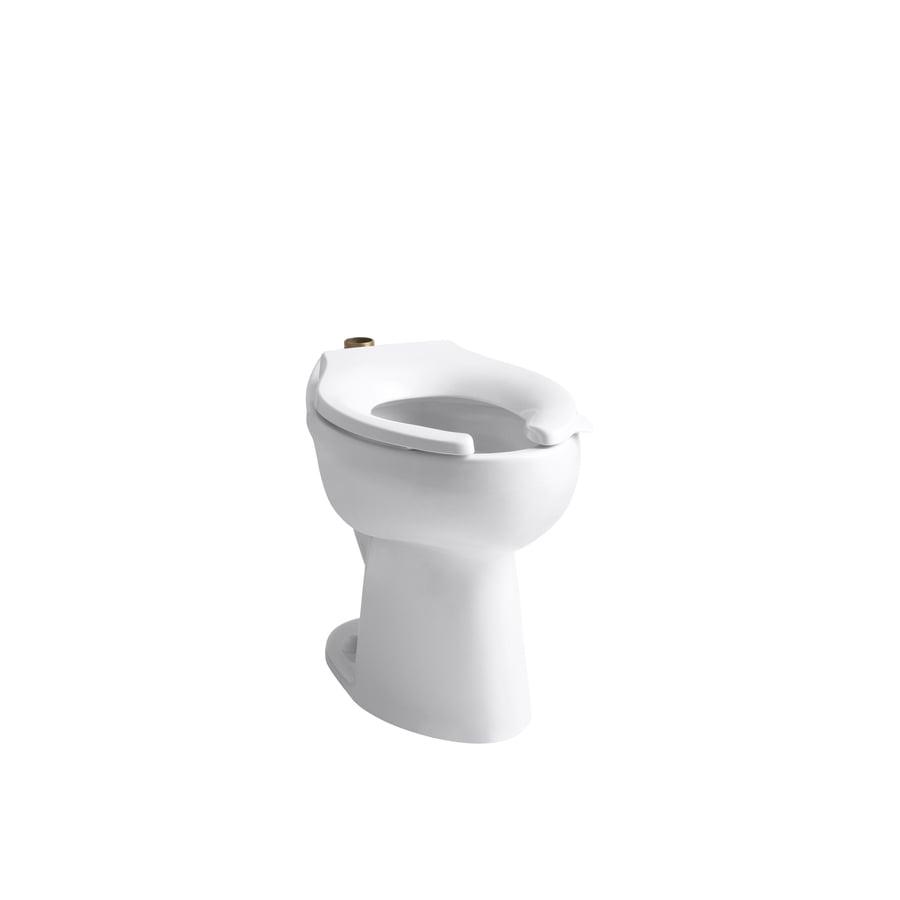 KOHLER Highcliff White Elongated Chair Height Toilet Bowl