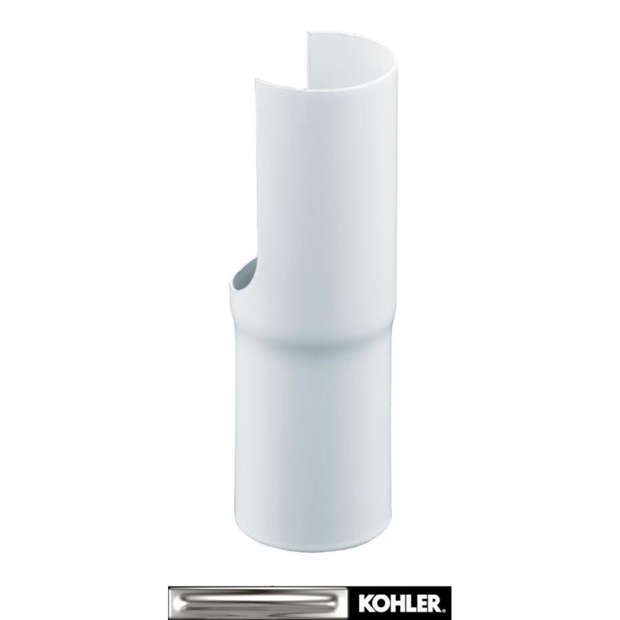 KOHLER Stainless Steel Wall-Mount Bathroom Sink Shroud