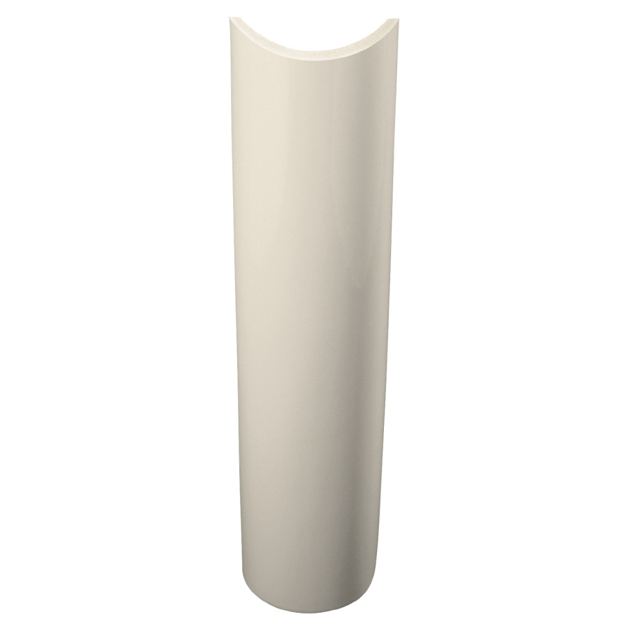 KOHLER Parigi 25.94-in H Almond Vitreous China Pedestal Sink Base