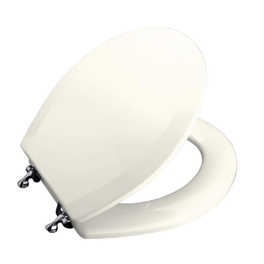 KOHLER Triko Wood Round Toilet Seat