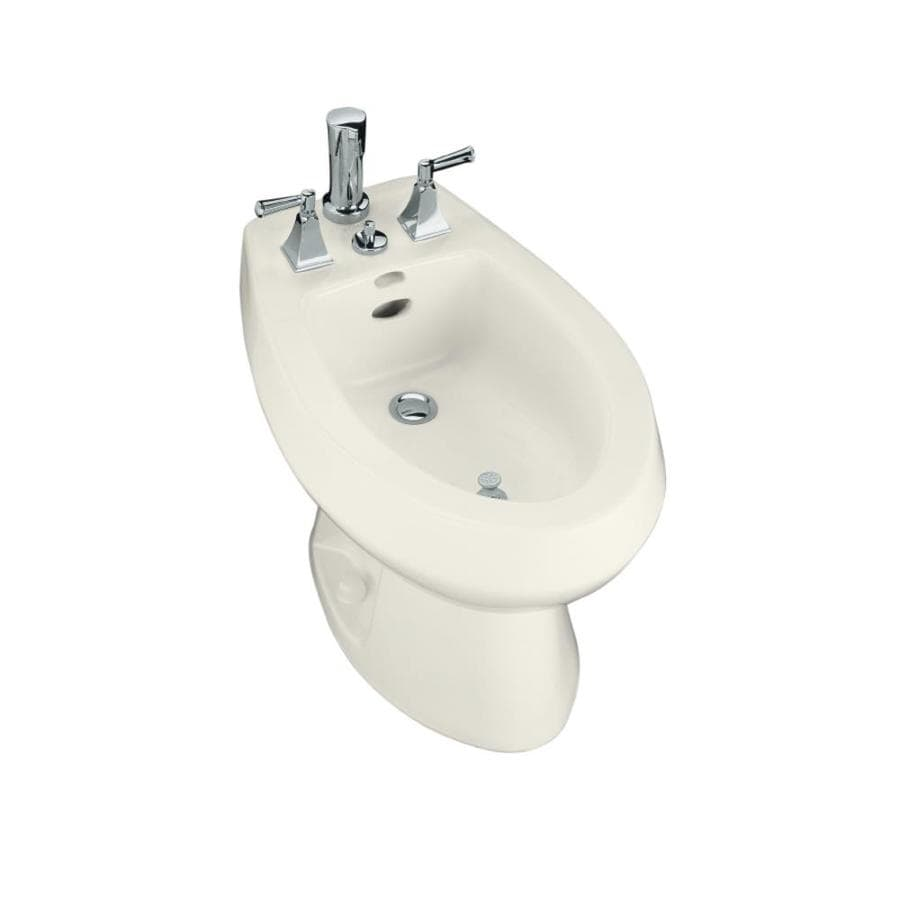 KOHLER San Tropez 15-1/2-in H Biscuit Elongated Bidet At
