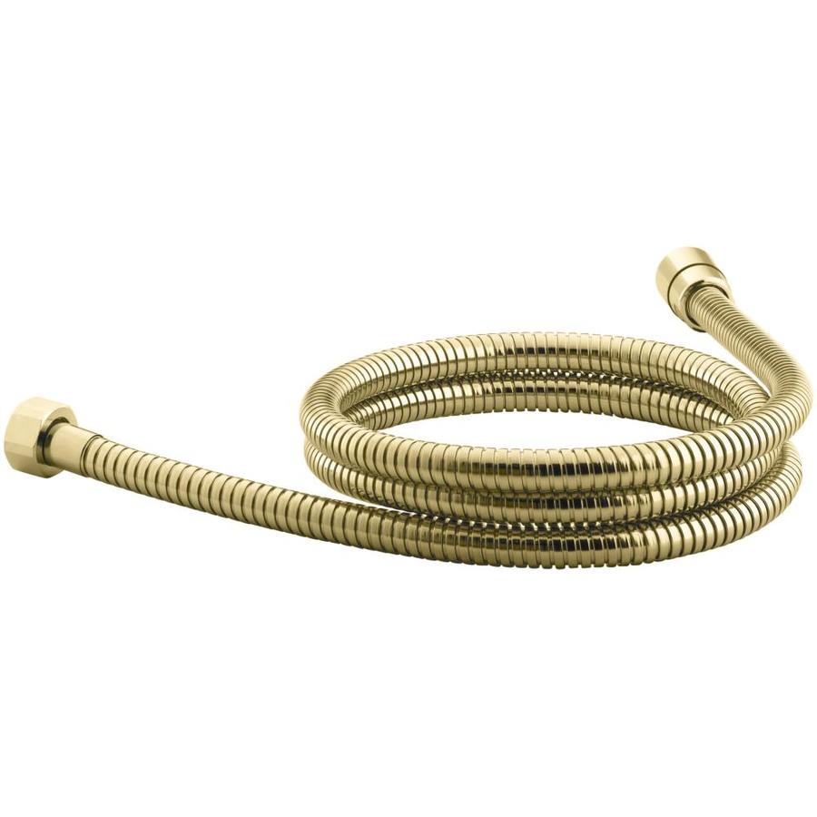 KOHLER Vibrant Polished Brass Hose