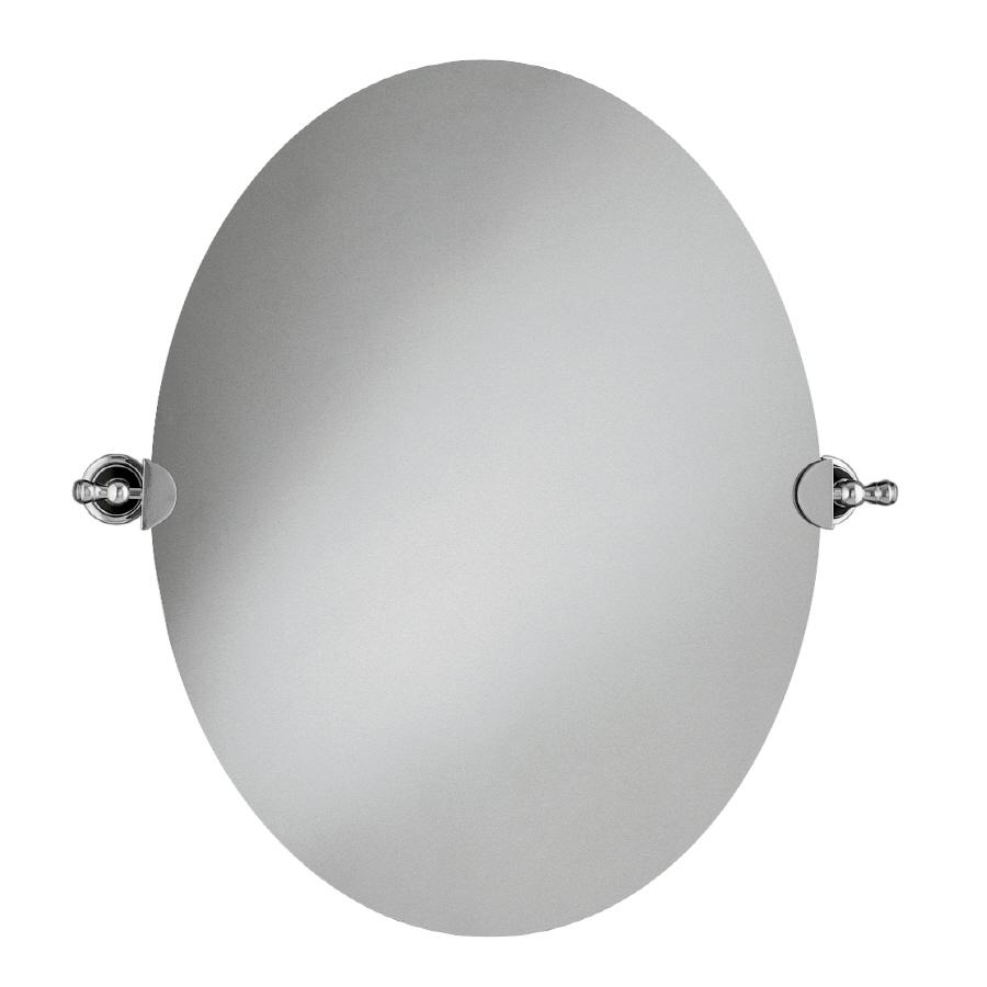 Shop kohler revival polished chrome oval bathroom mirror at Polished chrome bathroom mirrors