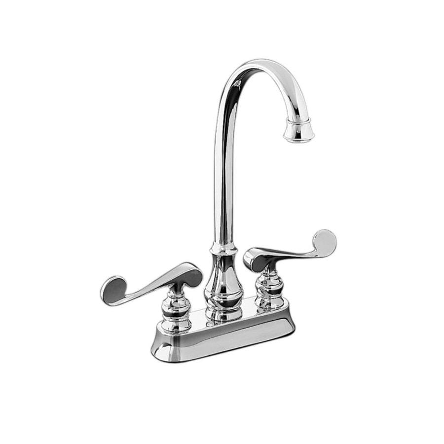 KOHLER Revival Polished Chrome 2-Handle Handle(S) Included Bar and Prep Faucet